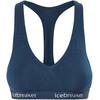 Icebreaker Sprite Biustonosze sportowe Kobiety niebieski